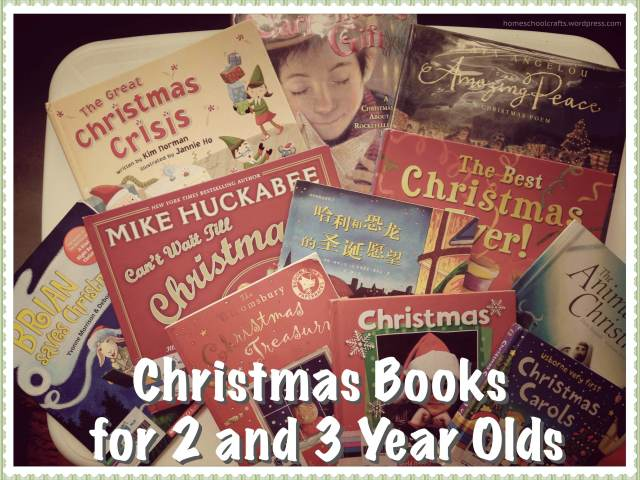 Christmas books for 2 and 3 year olds homeschool crafts for Christmas craft ideas for 3 year olds