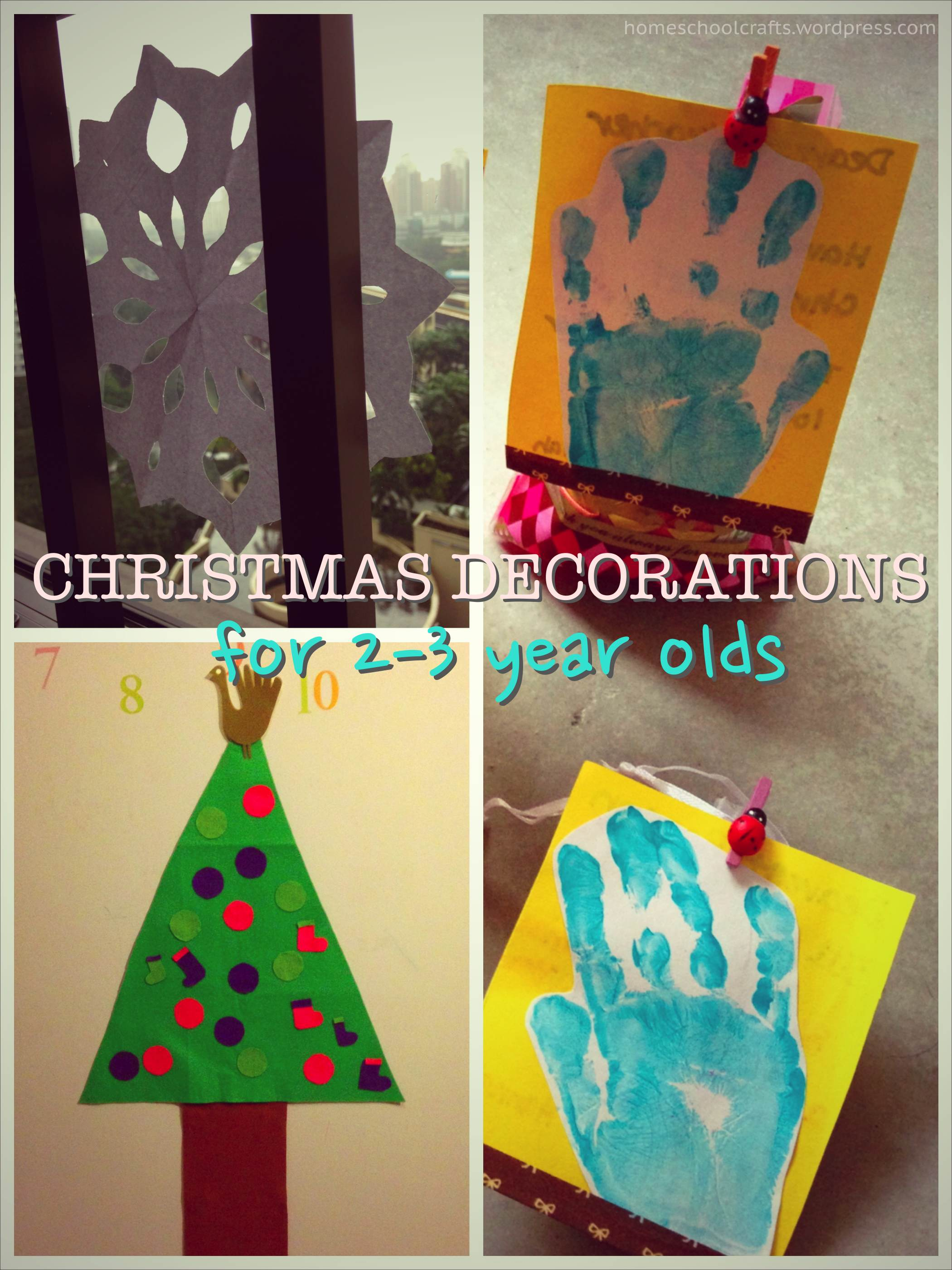 Diy Christmas Decor For School : Our last minute diy christmas decorations homeschool crafts