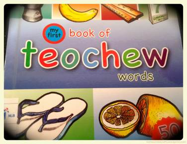 My First Book of Teochew Words Book Review
