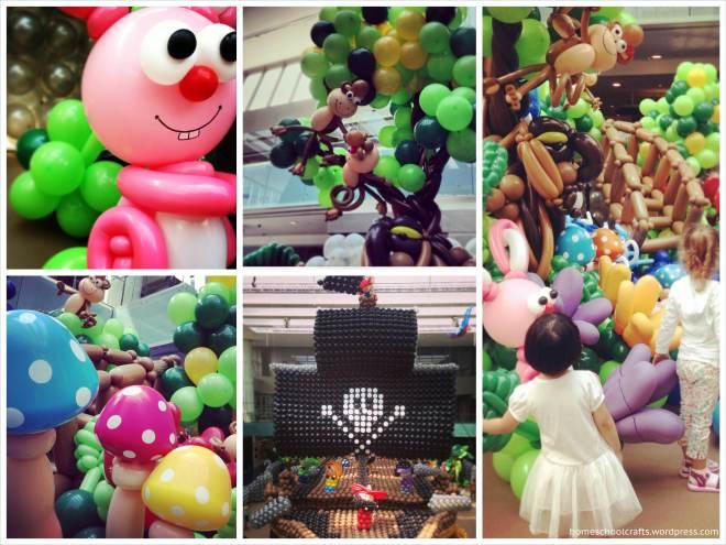 Balloon Paradise at Marina Square Shopping Mall
