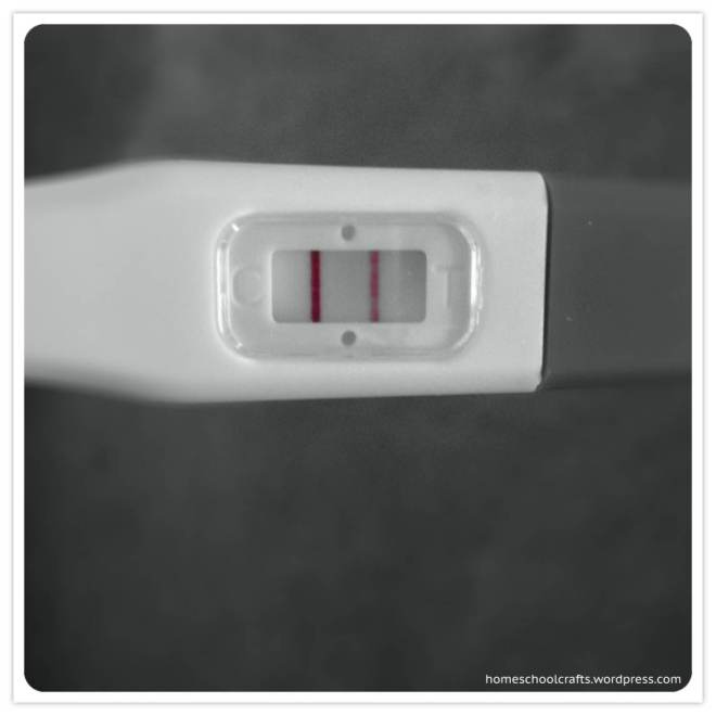 Pregnancy test results are out!