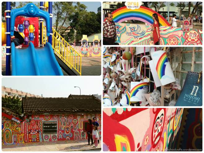 Taiwan holiday: Rainbow Village
