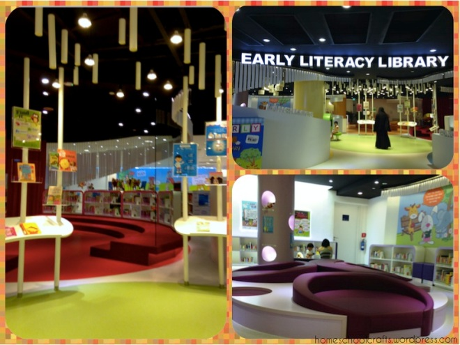 Reading nooks at Jurong Regional Library