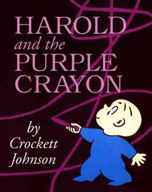 "Cover of ""Harold and the Purple Crayon"""