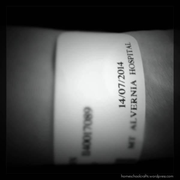 My hospital tag