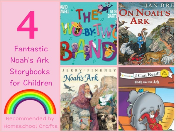 Four fantastic Noah's Ark books for children