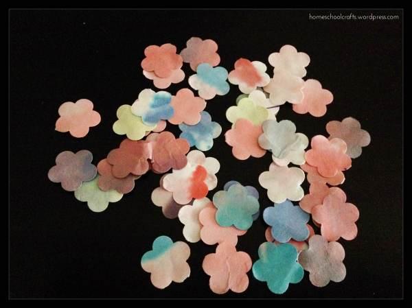 Dye Art: Crepe Paper Colour Transfer