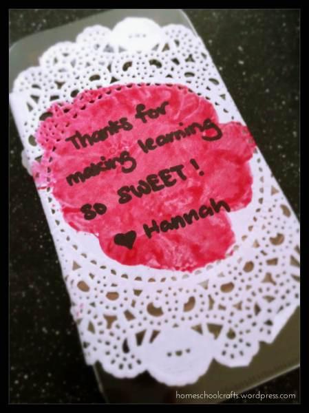 Teachers Day 2014: DIY Doily Gift Wrap