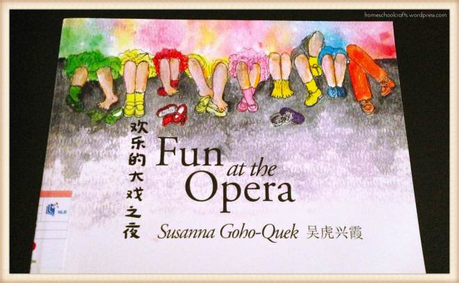 "Cover page of ""Fun At the Opera"" by Susanna Goho-Quek"