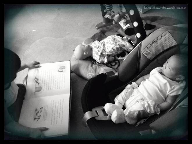 First Few Weeks - Reading to Baby