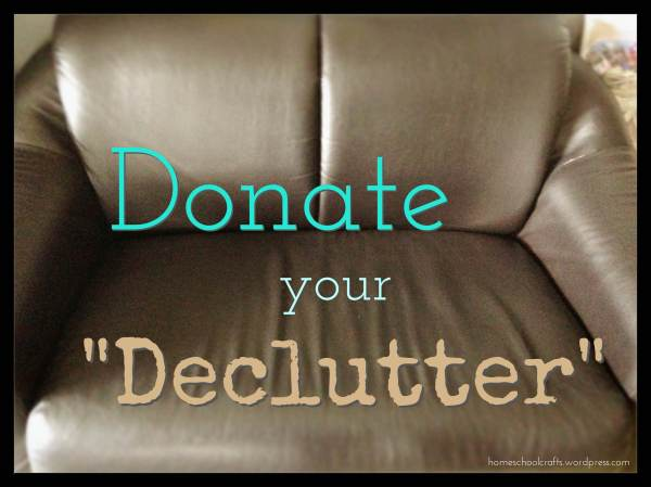 "Donate your ""Declutter"" - Pass it On Organisation, Singapore"