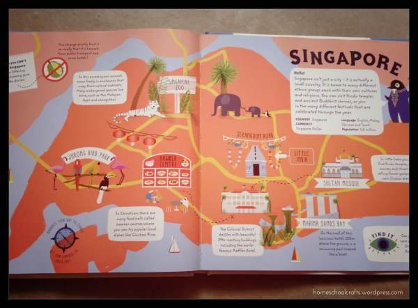 Inside of Big City Explorer Book