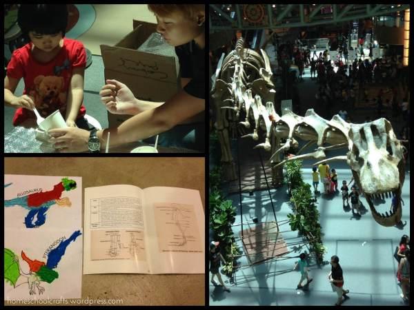 June holidays Singapore 2015: Dinosaurs