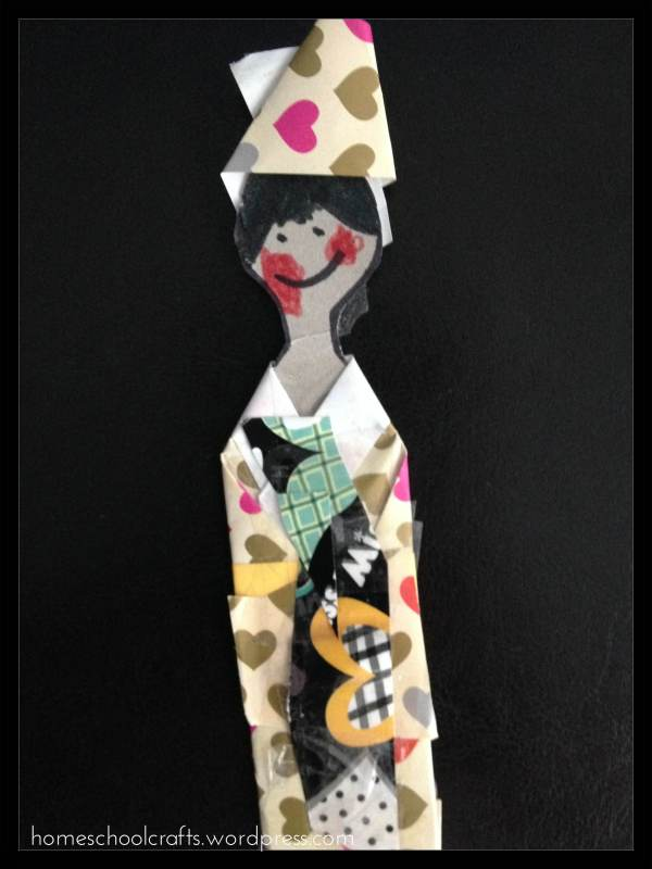 Preschool Geography: Japan (Kokeshi Doll)