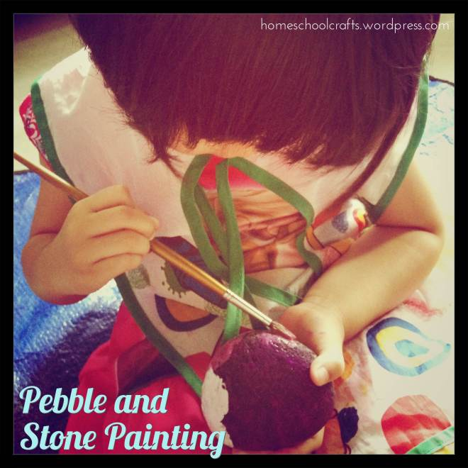 Pebble Stone Painting