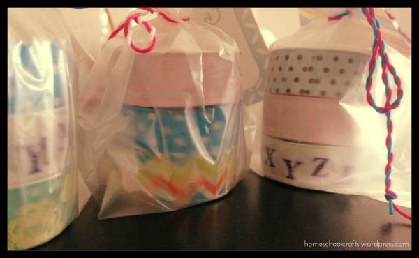 Teachers Day Gift: Washi Tape Tea Lights