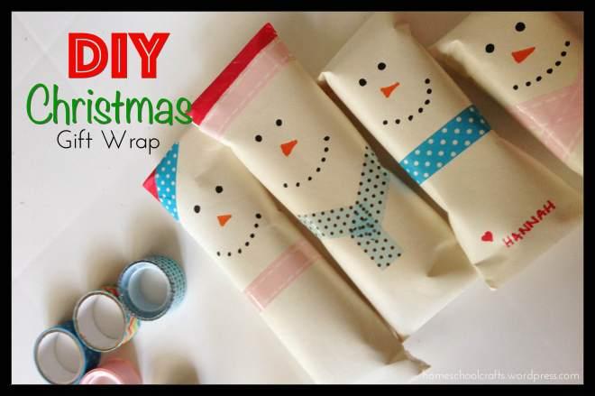 diy-christmas-gift-wrap-2015-homeschool-crafts