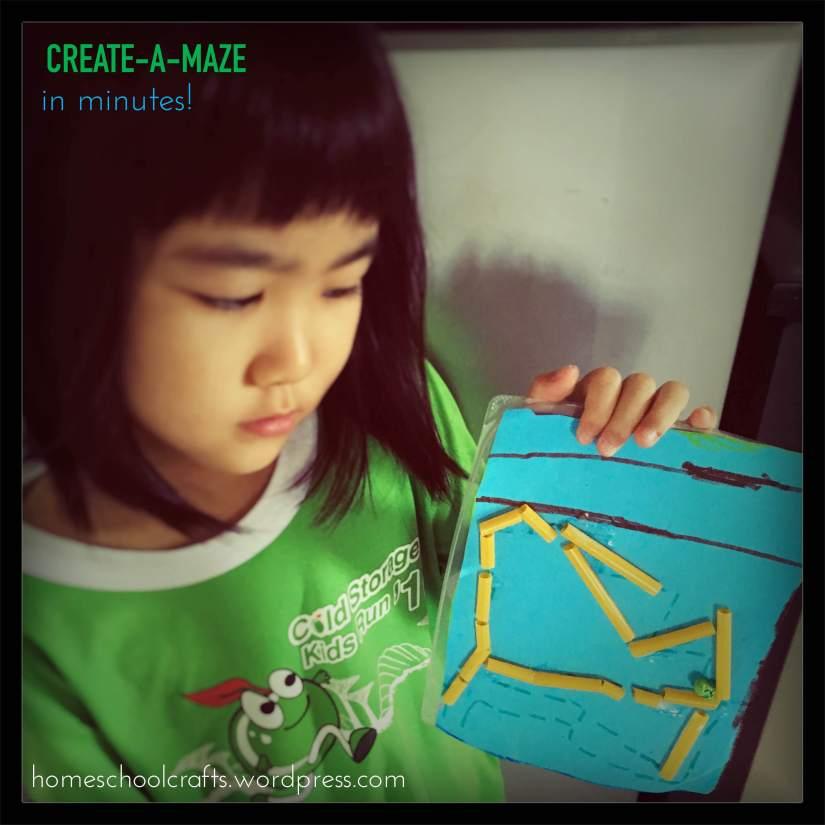 DIY-Maze-Homeschool-Crafts