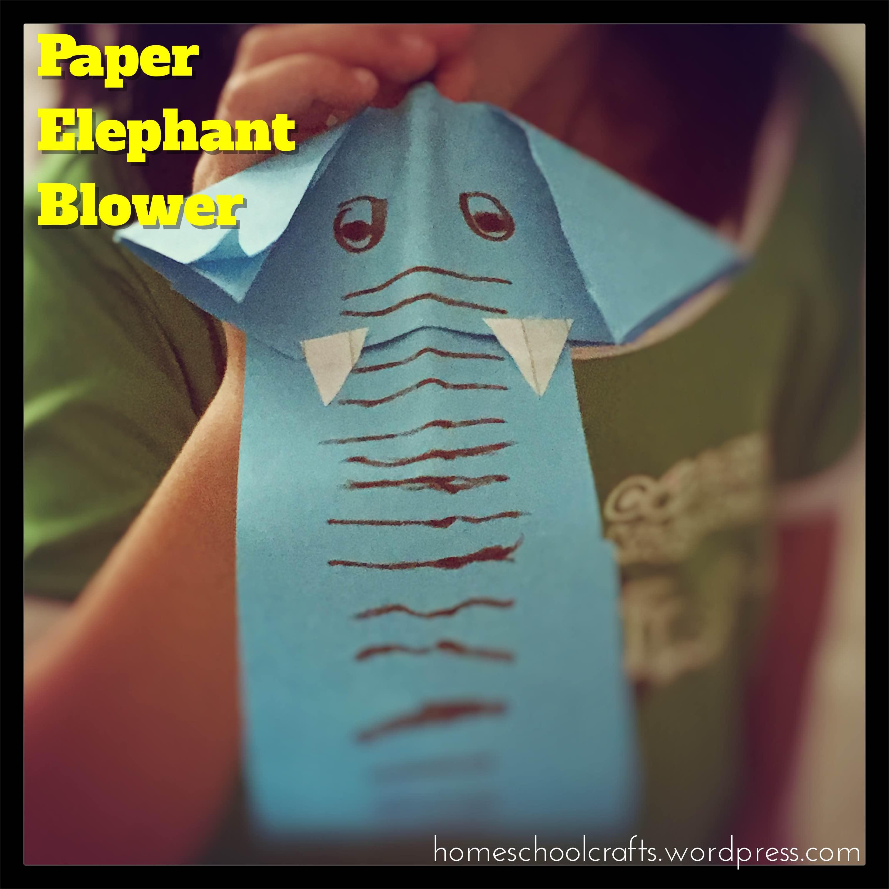 Paper-Elephant-Blower-Homeschool-Crafts